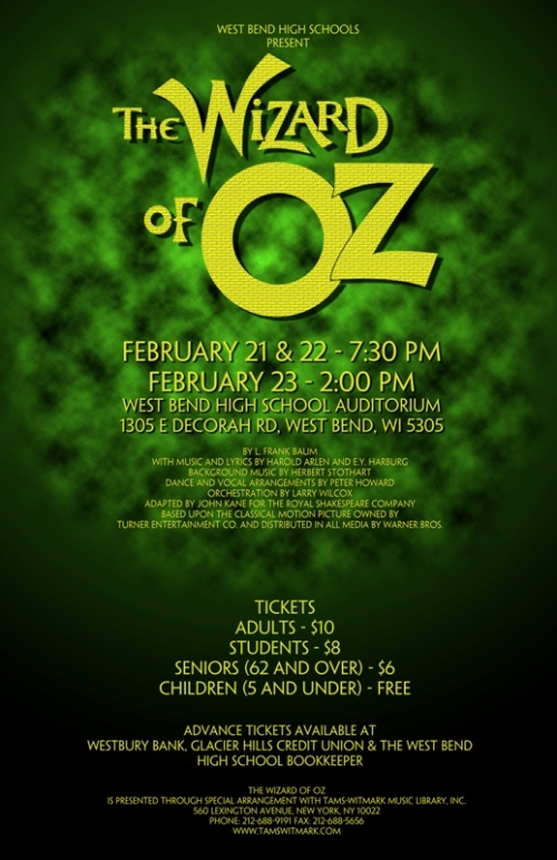 WBHS Oz Poster