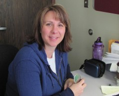 Sally Spaeth, district nurse