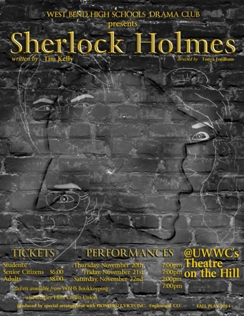 Sherlock Holmes Poster 8.5x11